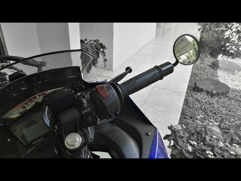 MOTOR SPORT PAKE SPION BAR END?? Yamaha R15