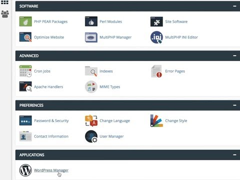 The New cPanel WordPress Manager - A Video How-to Install