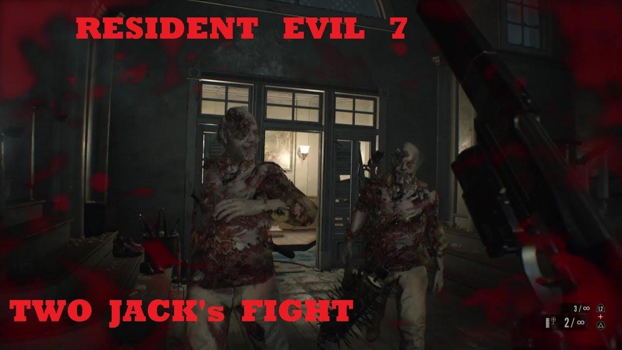 resident evil 7 broken handgun