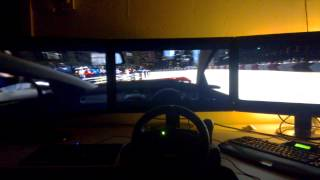 Grid 2  nvidia surround cockpit mod very high settings