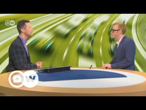 Internet expert Joachim Bühler in a discussion about 5G | DW English