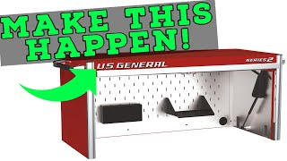 Petition for a Hutch for U.S. General Tool Cabinets from Harbor Freight