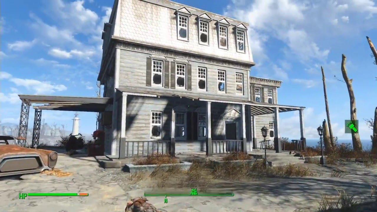fallout 4 rénover maison