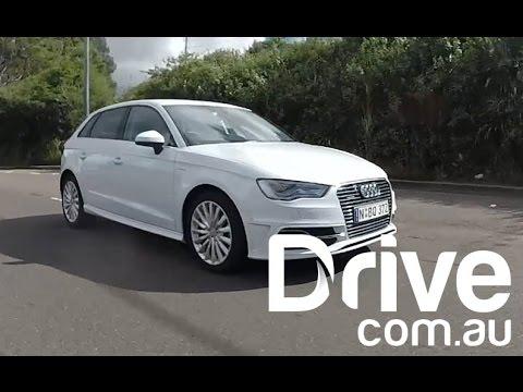 Audi A3 e-Tron Video Road Test   Drive.com.au