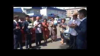 Кыргызстан Свадьба 2014 23 июня   1 Самат и Гулиза