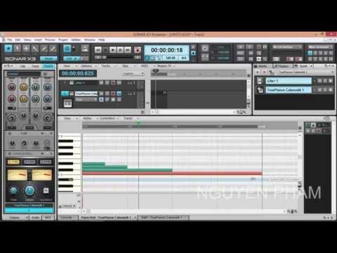 Huong dan su dung Sonar Producer x3 Part 3