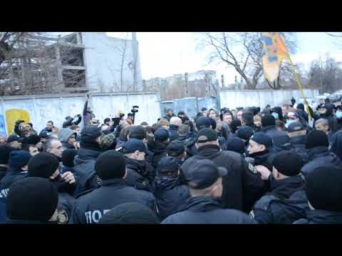 nazar viv: Конфлікт Нацкорпусу і поліції в Черкасах