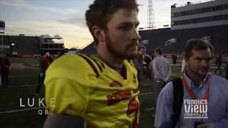 Luke Falk speaks on the suicide of teammate Tyler Hilinski at Senior Bowl