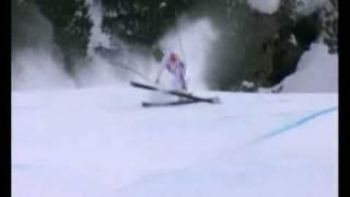 Падение французского горнолыжника Alexander Pasquier