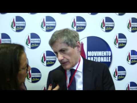 Gianni Alemanno fonda il Movimento Nazionale per la Sovranità