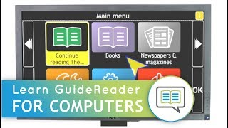 Learn GuideReader: Keyboard Tutorial