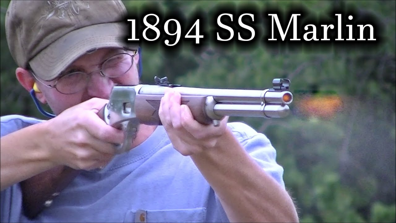 Ss Marlin 44 Mag Stainless Steel Lever Action Shooting