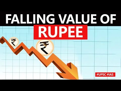 Indian Rupee Fall Against Dollar, Key Reasons Behind Recent Fluctuations In Indian Currency #UPSC