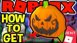 HOW TO GET THE PUMPKIN BACKPACK IN Roblox Halloween Event 2018