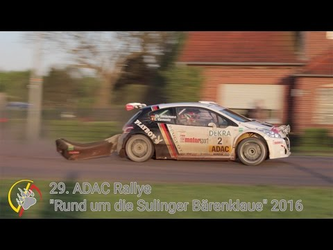 29. ADAC Rallye  Sulinger Bärenklaue 2016 - close calls - mistakes - miss the breaking point