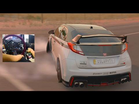 Forza Horizon 3 GoPro AWD Civic Type R Touge Build + Project Cars 2 Thoughts!