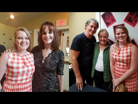 Nancy Drew Haunted Maine Convention  Part II  Meeting Pamela Sue Martin and Parker Stevenson!