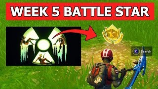 SECRET BATTLE STAR WEEK 5 LOCATION (LOADING SCREEN WEEK 5 BATTLE STAR) FORTNITE SEASON 10 WEEK 5
