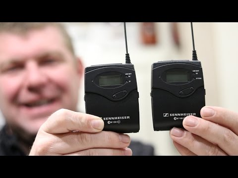 UNBOXING! Sennheiser Wireless Lavalier Microphone System (ENG 100 G3)