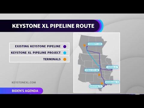 President Biden revokes the permit for the Keystone XL pipeline