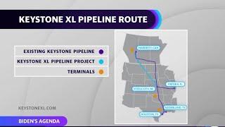 President biden revokes the permit for keystone xl pipeline