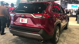 2019 Toyota RAV4 Hybrid Limited | First Look Walkaround