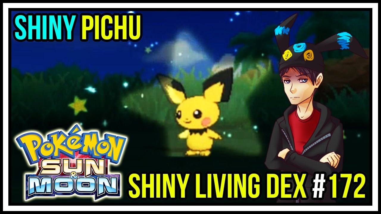 how to catch pichu in pokemon moon