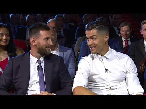 Lionel Messi & Cristiano Ronaldo Joke At UEFA Champions League Draw