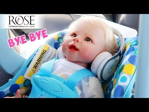 Leaving Rose Doll Show 2019 Heading Home with My New Reborn