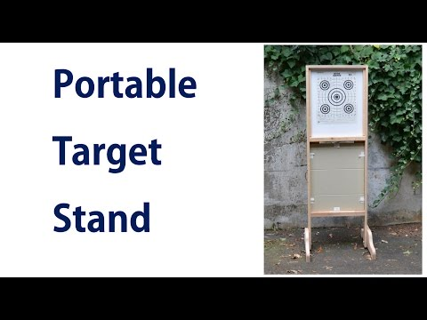How to Make A Portable Target Stand