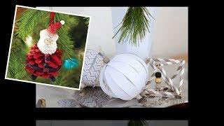 60+ Adorable Handmade Christmas Decoration Ideas 2018 -2019