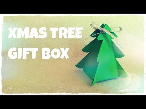 """DIY - Cách làm hộp quà """"Cây thông Noel"""" độc đáo cho lễ Giáng Sinh"""