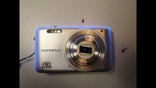 NIKON spadnutý fotoaparát, zaseknutý objektív/fallen camera, blocked lens, lens repair