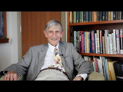 Freeman Dyson Predicts the Future: Interactive Video