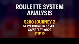 STRATEGY APPLICATION - REAL MONEY - $200 Journey 2 - Part 10