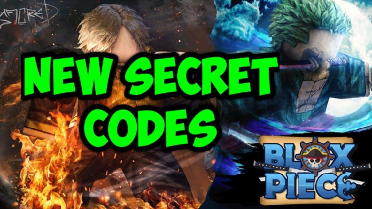 ??????? Roblox Blox Piece Roblox Released Blox Piece New Secret Codes Youtube