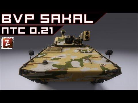 Armored Warfare. Обзорчик BVP Sakal с ПТС - подкустовая ковырялка :)