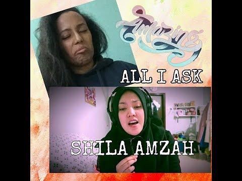 ADELE - All I Ask Cover - Shila amzah | REACTION by Siwah