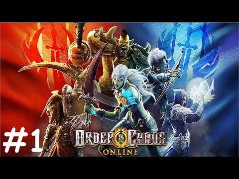 Order & Chaos Online #1 Gameplay Обзор Первый взгляд Летсплей (Android,APK,iOS) Игра за Орка Воина