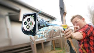 Apple Watch Water Test at 50m PER SECOND!