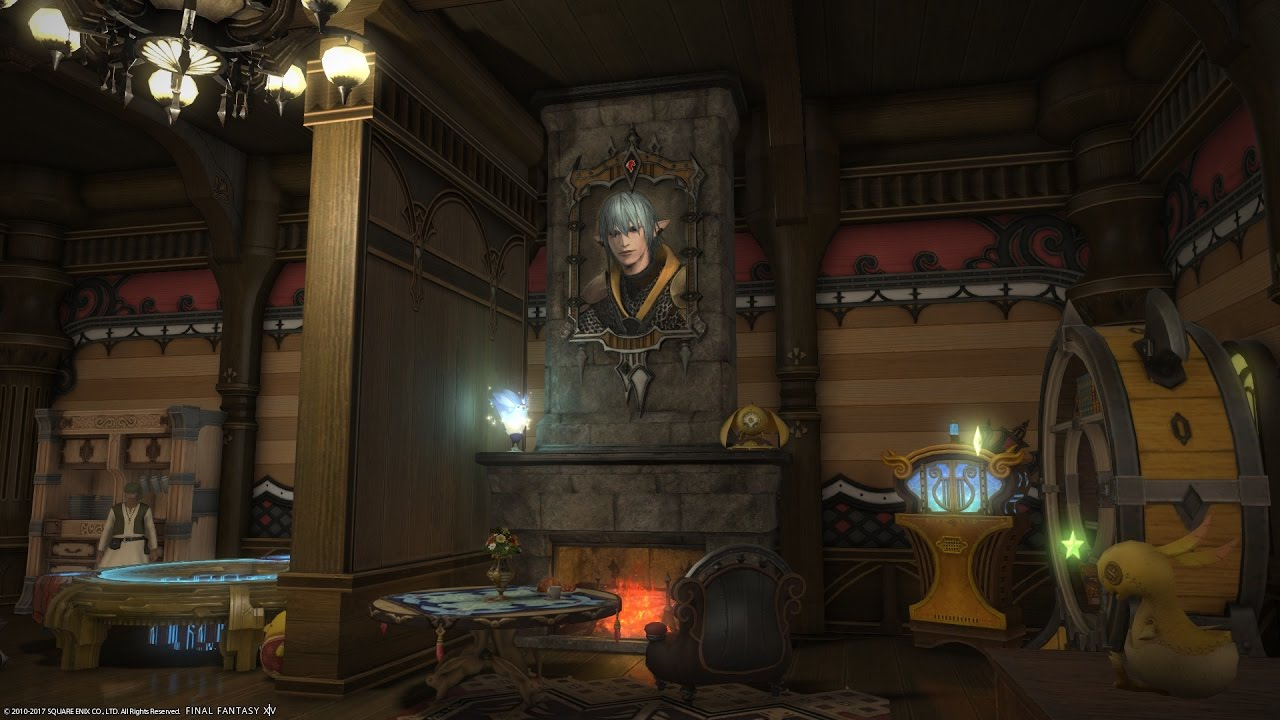 FFXIV How To Place Tabletop Wall Mounted Furniture Wherever