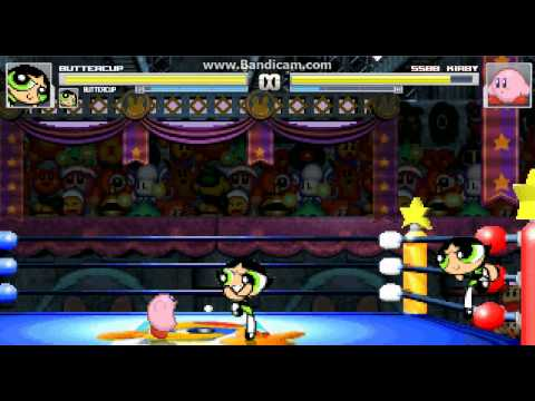 mugen-battles-#37-two-buttercups-vs-kirby