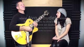 Ava Gaudet's Guest Guitar Player Series.4 -