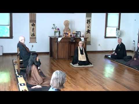 Hoen-ji Spring Sesshin Closing Remarks by Shinge Roshi, 6.6.2021