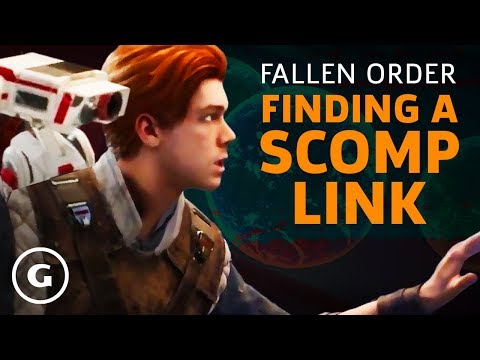 Star Wars Jedi: Fallen Order - How To Get A Scomp Link