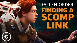 Star Wars Jedi: Fallen Order - How To Get A Scomp Link