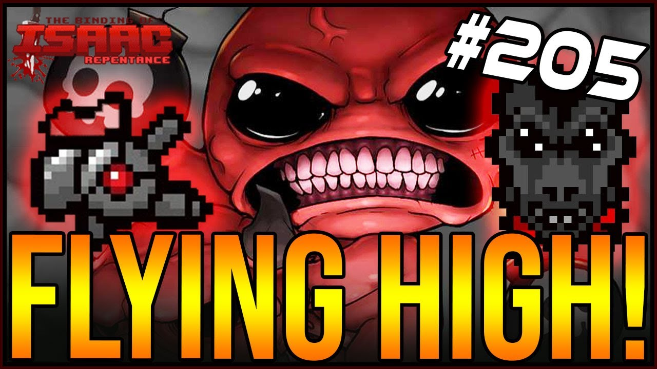 Download FLYING HIGH! - The Binding Of Isaac: Repentance #205