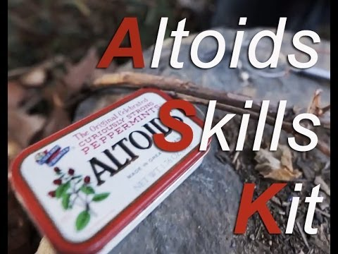 Unsui's Altoids Skills Kit & Soda Can Stove!