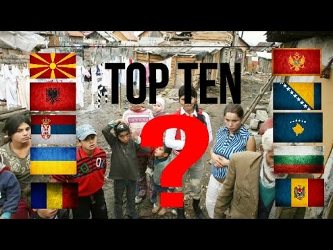 Top Ten Poorest Countries In Europe YouTube - Poorest country in europe