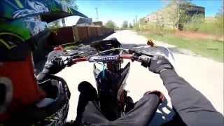 IRBIS TTR 125 Motard/Wheelie От 1 лица на задем колесе.